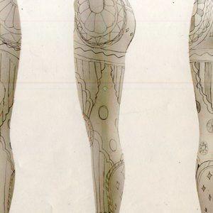 Nike Pants & Jumpsuits - RARE Nike Pink Circus Kaleidoscope Leggings Pants